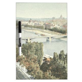 Paris, La Seine Dry Erase Board