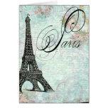 Paris La Tour Eiffel French Design Note Card