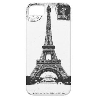 Paris La Tower Eiffel Vintage Postcard iPhone 5 Covers