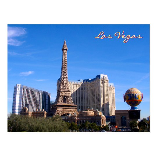 Paris, Las Vegas Postcard