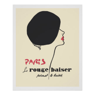 Browse our Collection of French Posters and personalise by colour, design or style.