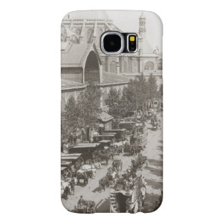 Paris: Les Halles, C1900 Samsung Galaxy S6 Cases