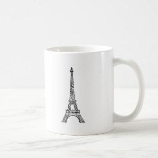 PARIS LINE BASIC WHITE MUG
