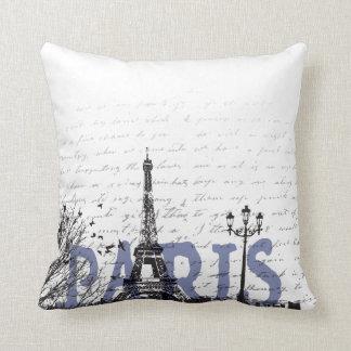 Paris love cushion