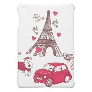 Paris Love iPad Mini Cover