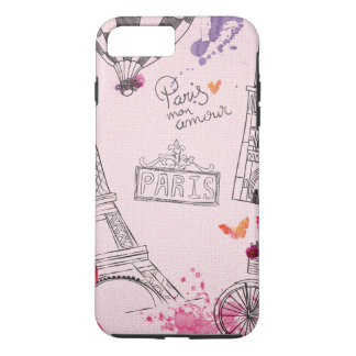 Paris Love iPhone 7 Plus Case