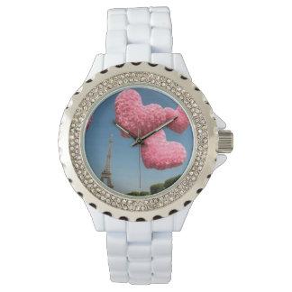 Paris love wristwatch