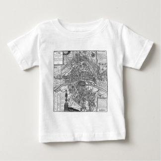 Paris Map 1643 Tee Shirts