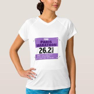 Paris Marathon Runner, 26.2 Miles Personalized T-Shirt
