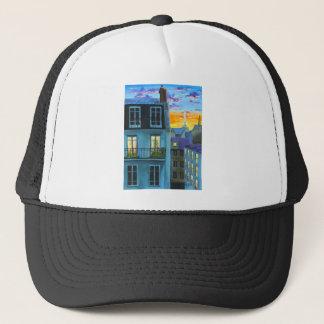 Paris memories Eiffel tower Trucker Hat