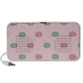 Paris Moon Macaron and polkadots Speaker System