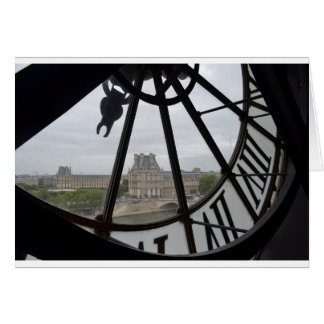 Paris- Musee de Orsay Clock_.jpg Card