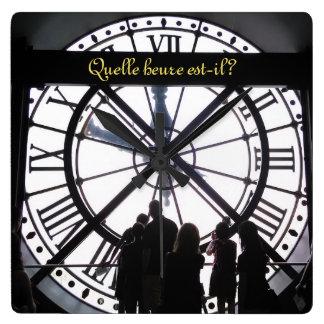 Paris Museum Train Station Clock