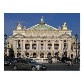Paris - national Op�ra - Postcard