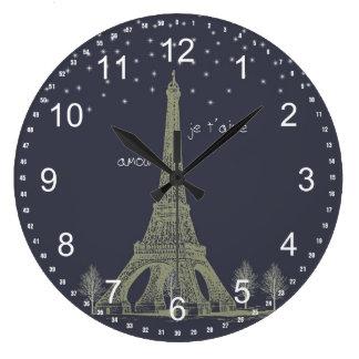 Paris Night Clock