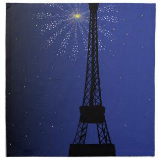 Paris Night Napkin