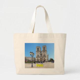 PARIS Notre Dame Large Tote Bag