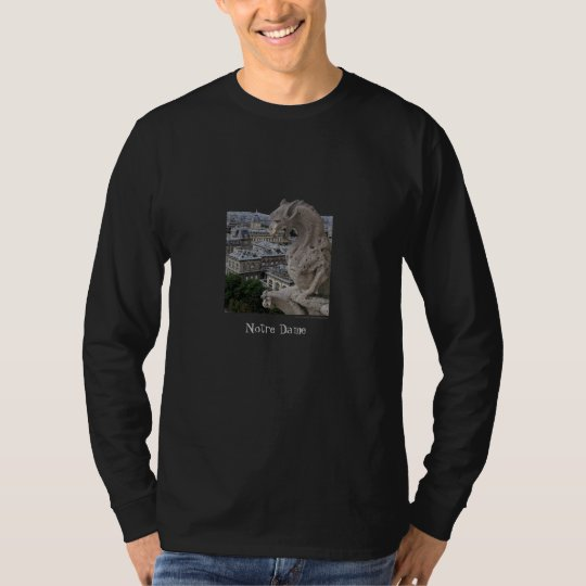 Paris Notre Dame Long Sleeve Shirt
