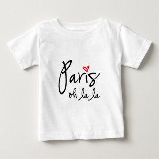 Paris oh la la baby T-Shirt