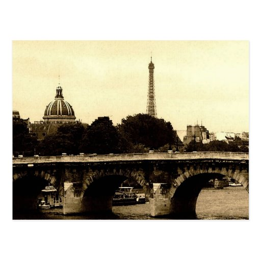Paris On The Square Post Card