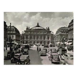 Paris, Opera, 1930 Postcard