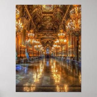 Paris Opera House Poster