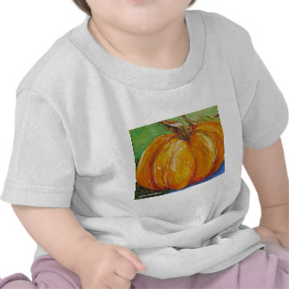 Paris' Orange Pumpkin Tee Shirt
