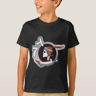 Paris P-40 WWII Nose Art T-Shirt