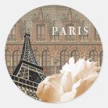 Paris Peony stickers