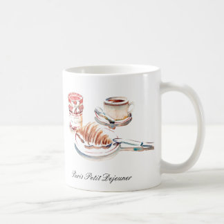 Paris Petit Degeuner Coffee Cup