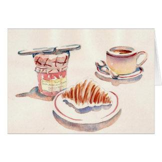 Paris Petit Dejeuner Card