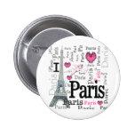 Paris Pinback Button