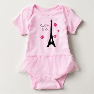 Paris Pink Kisses TuTu Bodysuit