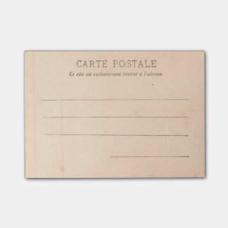 Paris Postcard from around 1905 The Tracadero Post-it Notes