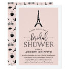Paris Romance Bridal Shower Invitation