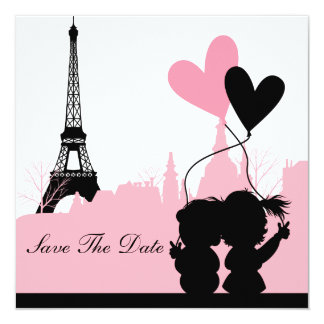 Paris Save the Date Announcement