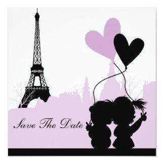 Paris Save the Date Announcement (Purple 2)