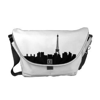Paris Skyline Messenger Bag