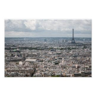 Paris Skyline Photograph
