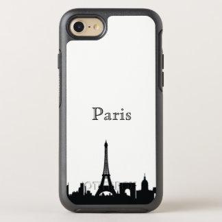 Paris Skyline Silhouette Case