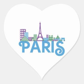 Paris Skyline Stickers