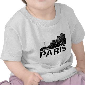 Paris Skyline T Shirt