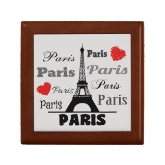Paris Small Square Gift Box