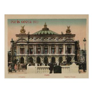 Paris Souvenier L Paris Opera House Post Cards