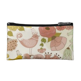 """Paris-Spring* Small Cosmetic's Bag_Floral+Rose II Cosmetic Bags"