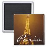 Paris square magnet