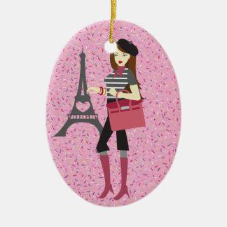 Paris - SRF Christmas Ornament