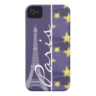 Paris Starry Night; Eiffel Tower Case-Mate iPhone 4 Case