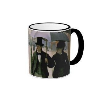 Paris Street Caillebotte Mug