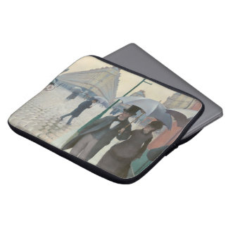 Paris Street; Rainy Day AKA Paris: A Rainy Day Laptop Sleeve